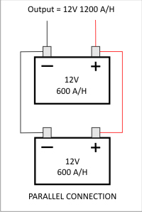 parallel battery configuration