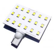 T10 Wedge 18 LED Side Pin