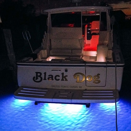 Lumitec Seablaze X2 Dual Color Underwater Led Light