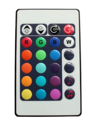 RGB MUSIC Controller 12Amp with IR Remote