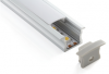 Recessed Mount LED Aluminium Extrusion - ALP003