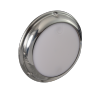 Lumitec Touch Dome - Stainless Bezel - Dimmable White + Red